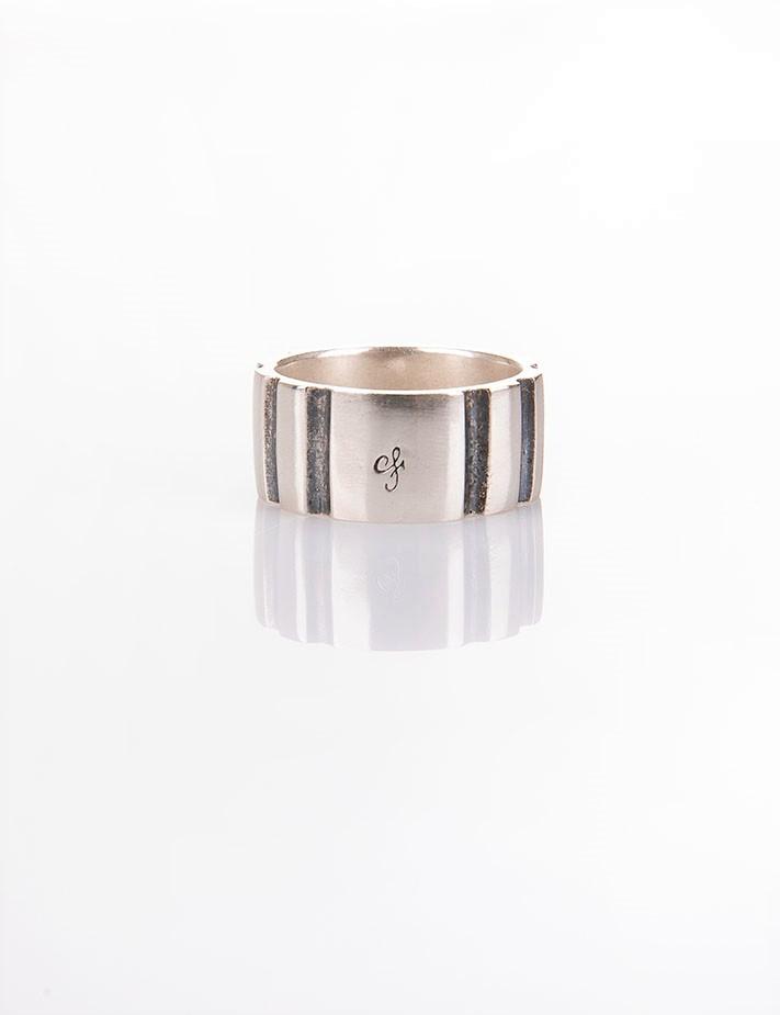 Ανδρικό δαχτυλίδι από ασήμι (925'') R000043