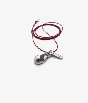 ανδρικό κολιέ από ασήμι manfistgr Ν0033Μ
