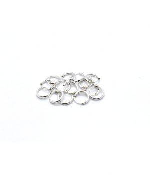 Σκουλαρίκια τύπου ''κρίκος'' ασήμι (1,2 Χ 8mm) ΚΑ 1