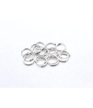 Σκουλαρίκια τύπου ''κρίκος'' ασήμι (1,2 Χ 10mm) ΚΑ 2