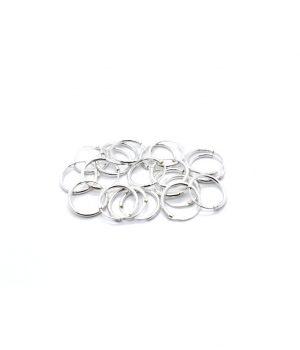 Σκουλαρίκια τύπου ''κρίκος'' ασήμι (1,2 Χ 12mm) ΚΑ 3
