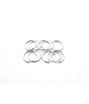 Σκουλαρίκια τύπου ''κρίκος'' ασήμι (1,2 Χ 14mm) ΚΑ 4