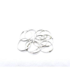 Σκουλαρίκια τύπου ''κρίκος'' ασήμι (1,2 Χ 18mm) ΚΑ 6