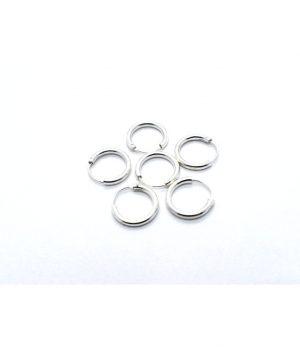 Σκουλαρίκια τύπου ''κρίκος'' ασήμι (2,00 Χ 14mm) ΚΑ 22