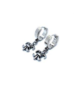 Σκουλαρίκια κρικάκια ''κρεμαστό'' ατσάλι (4,00Χ13mm) HEA671