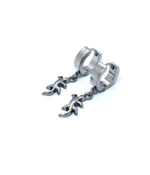 Σκουλαρίκια κρικάκια ''κρεμαστό'' ατσάλι (4,00Χ13mm) HEA674