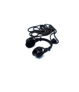 Ανδρικό κολιέ ακουστικά μουσικής με αλυσίδα HC8634