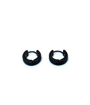 Σκουλαρίκια τύπου ''κρίκος'' ατσάλι (4,00Χ13mm) HEA243