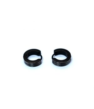 Σκουλαρίκια τύπου ''κρίκος'' ατσάλι (4,00Χ13mm) HEA261