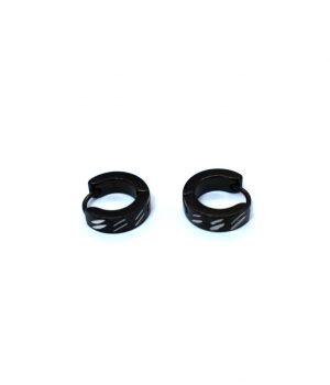 Σκουλαρίκια τύπου ''κρίκος'' ατσάλι (4,00Χ13mm) HEA262