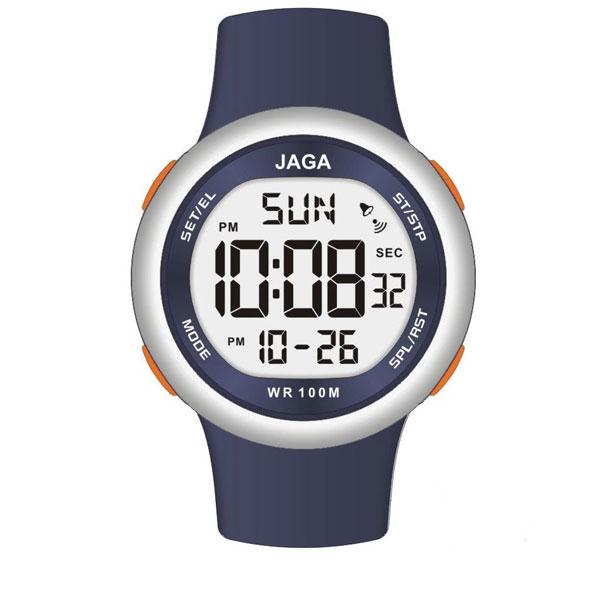 Ανδρικό ψηφιακό ρολόι JAGA WATCHES με λουράκι M102X