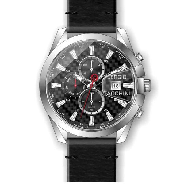 Ανδρικό ρολόι SERGIO TACCHINI με λουράκι ST.1.10049.1