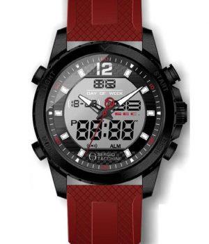 Ανδρικό ρολόι SERGIO TACCHINI με λουράκι ST.1.10052.3
