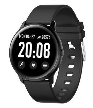Ανδρικό ρολόι JAGA SMART με λουράκι JS11-ΜΑΥΡΟ