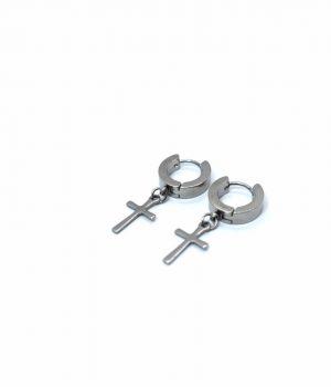 Σκουλαρίκια κρικάκια ''κρεμαστό'' ατσάλι (4,00Χ13mm) HEA670