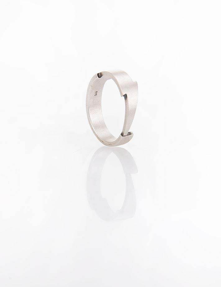 Ανδρικό δαχτυλίδι από ασήμι (925'') B000054